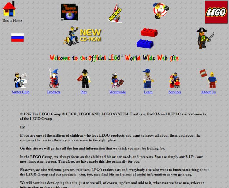 C'était beau... avant ! Lego en 1997