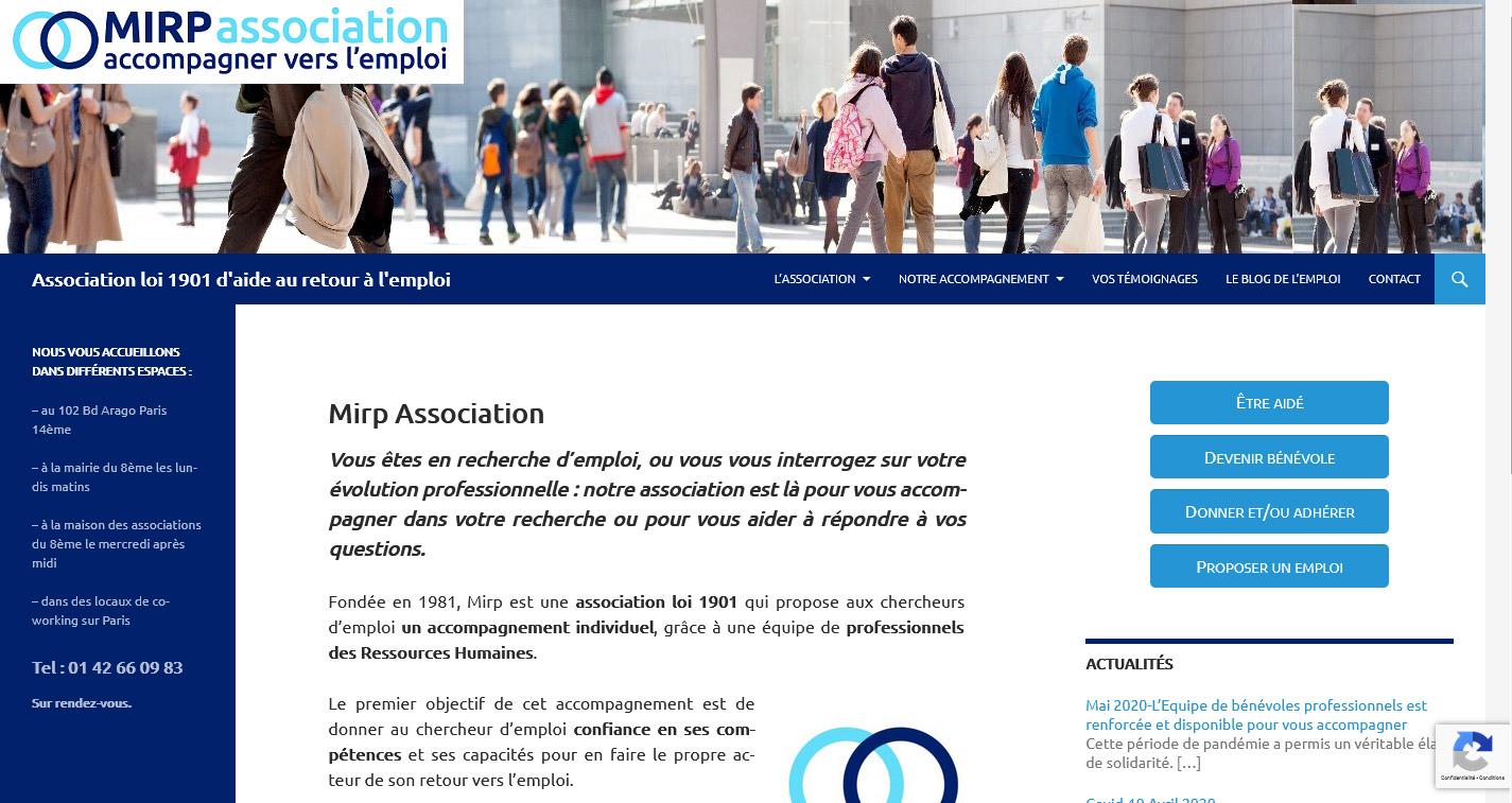 Site de MIRP Association
