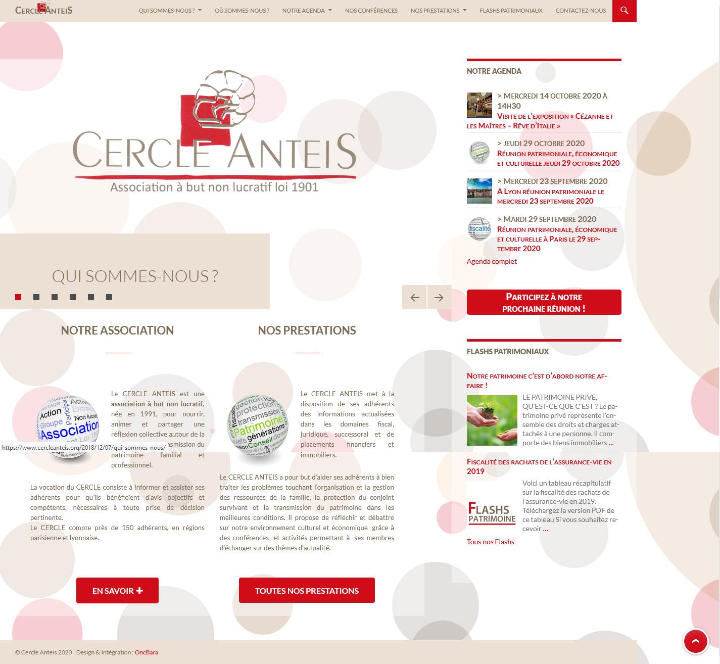 Site du Cercle ANTEIS